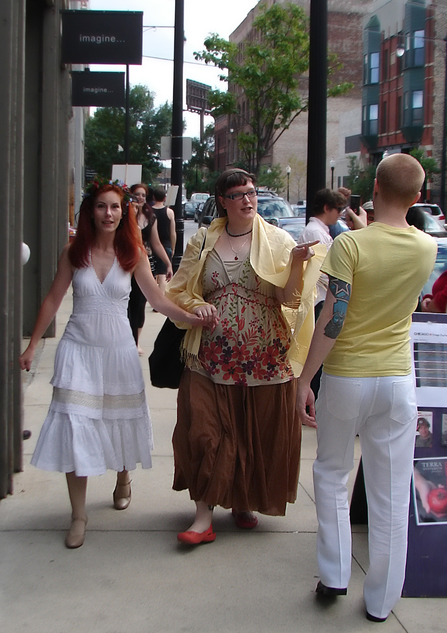 Demeter & Persephone on the street